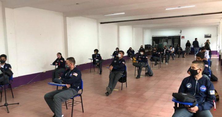 Estudiantes de 11 y del CLEI 6 en La Ceja retomarán clases en modelo de alternancia