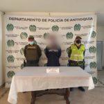 En lo que va corrido del 2021, las autoridades de La Ceja han realizado 8 capturas, principalmente por tráfico de estupefacientes