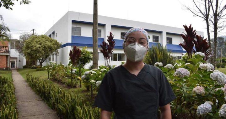 Una terapeuta respiratoria será la primera vacunada contra el COVID-19 en La Ceja