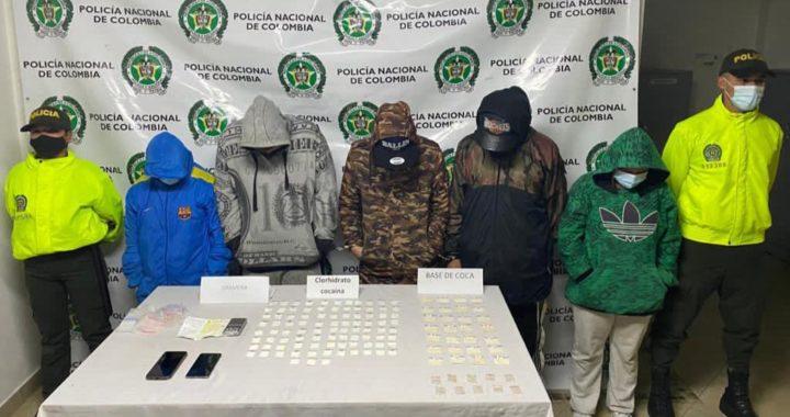 """Capturan a miembros del grupo delincuencial """"Los Mesa"""" en el municipio de La Ceja"""