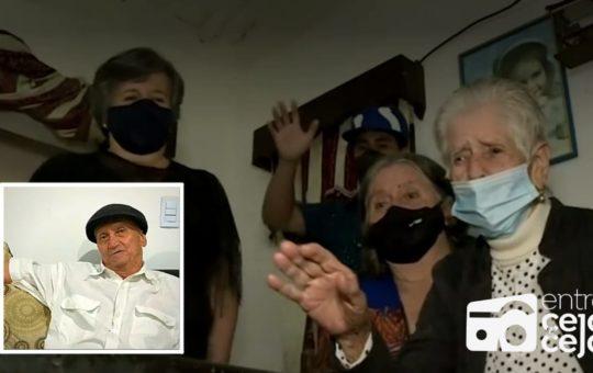 Rionegro: Mujer de 95 años se reencontró con su hijo tras casi 6 décadas.