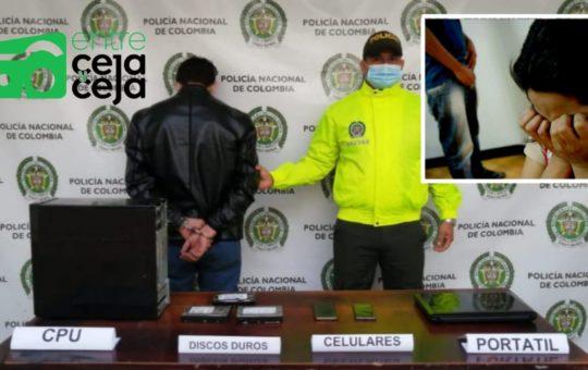 Presuntos violadores fueron capturados, en su poder tenían pornografía infantil.