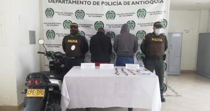 Capturados en La Ceja presuntos responsables del homicidio de un menor de edad