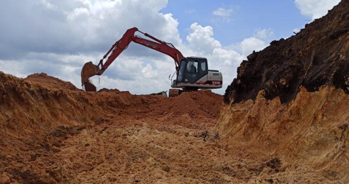 Por afectación ambiental, Cornare suspendió movimientos de tierra en San Vicente