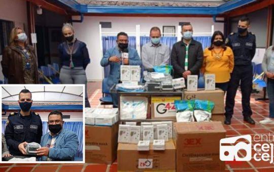 Integración Regional: Alcaldía de Rionegro entregó donación de equipos médicos a Hospital de La Unión.