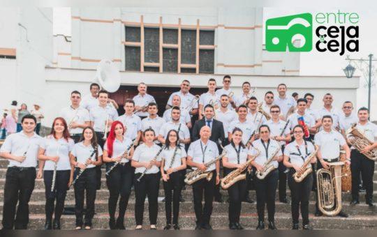La Ceja: Banda de Payuco se presenta hoy en el Festival de Música Religiosa.