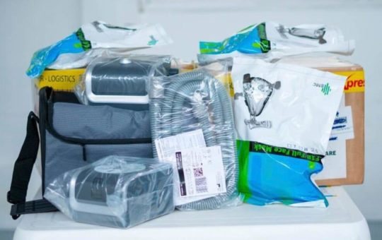 La Ceja recibió 6 ventiladores de oxígeno traídos de Emiratos Árabes Unidos