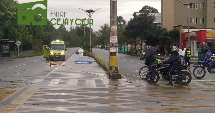 Recicladora de la empresa Planeta Verde, falleció tras ser atropellada por un vehículo.