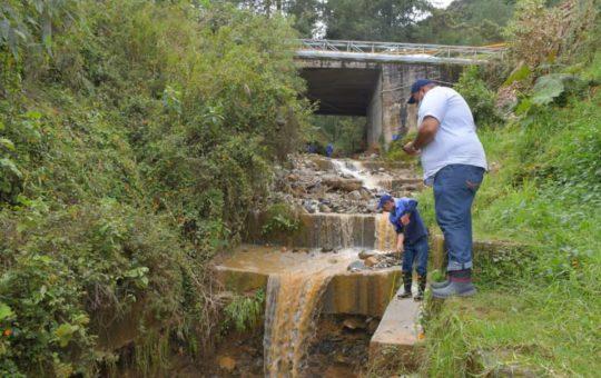 El Retiro: Analizan movimientos de tierra en La Borrascosa.