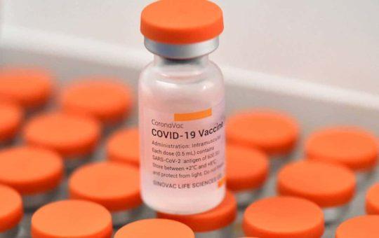 1.300 vacunas para Covid-19, llegaron ayer a La Ceja.