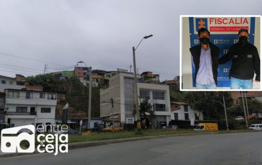 Cayó «El Caleño» señalado de coordinar plazas de vicio en Rionegro.