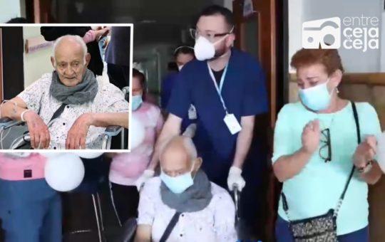 Murió en Marinilla, adulto mayor de 99 años que había superado la batalla contra el COVID-19