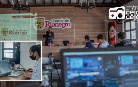 Concejo de Rionegro le hace frente a la pandemia,innovando en sus comunicaciones.
