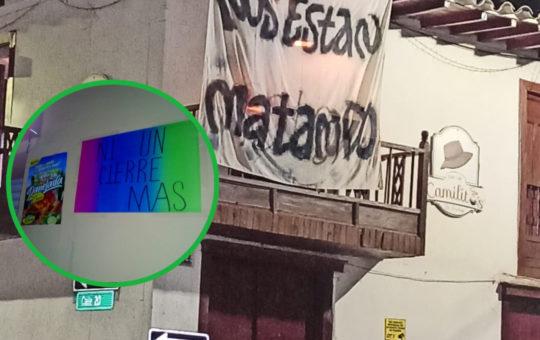 """""""Nosotros también estamos en cuidados intensivos"""": grupo de comerciantes de La Ceja"""