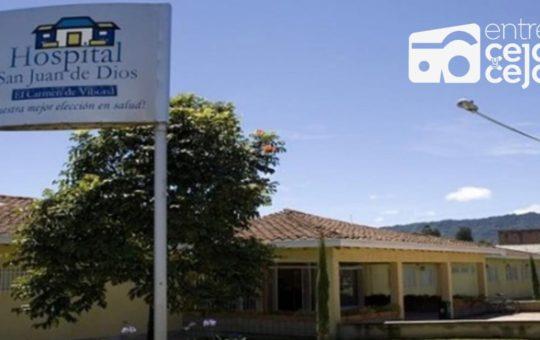 Así será el servicio del Hospital de El Carmen de Viboral este fin de semana.