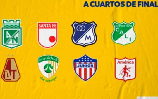 Nacional enfrentará a Equidad en los cuartos de final de la Liga.