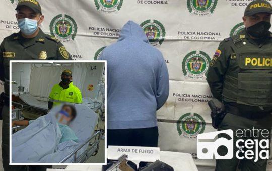 !Heroico¡ Policía vestido de civil frustró hurto en El Peñol; uno de los ladrones falleció tras el hecho.