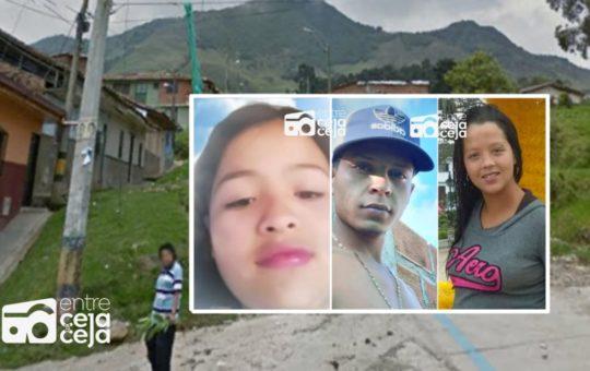 Sonsón: Asesinan 3 personas, entre ellas a una estudiante de 13 años.