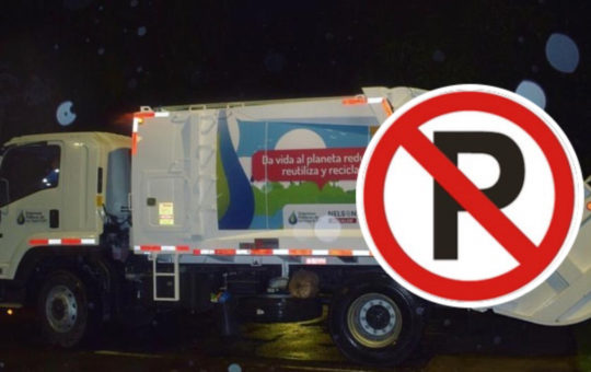 Vehículos mal parqueados estarían afectando rutas de recolección