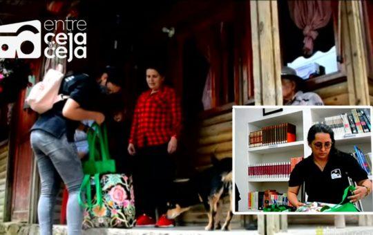 Biblioteca a domicilio: Así llega la literatura a los campesinos de El Retiro.