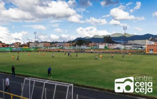 Cancelada la final del torneo de fútbol, categoría mayores en La Ceja.