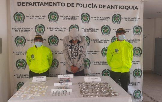 """En La Ceja cayó """"Chicha"""", miembro del grupo delincuencial """"Los Mesa"""""""