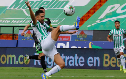 ¡Papelón! Nacional no pudo con Equidad en el Atanasio Girardot y quedó eliminado de la Liga.
