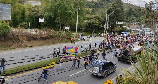 Atención: Nuevo bloqueo en Autopista Medellín – Bogotá-
