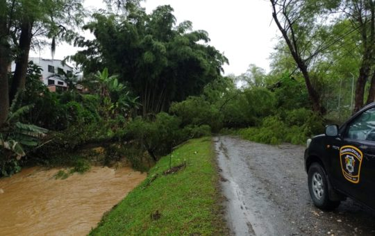 En Guarne se han atendido 17 emergencias durante esta semana por cuenta de las lluvias