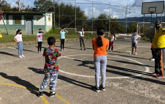 En El Carmen llegan con actividades deportivas a la zona rural