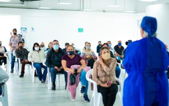En La Ceja ya se pueden vacunar contra el Covid personas mayores de 55 años.
