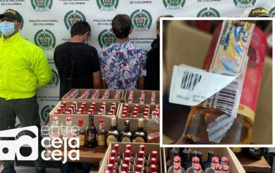 El Carmen: Capturados adulteraban licor y apoyaban la banda delincuencial «Los Mesa»