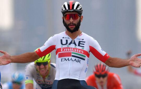 Fernando Gaviria, tercero en clasificación general por puntos del Giro de Italia.