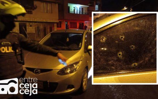 El Peñol: Ataque sicarial dejó un muerto y dos heridos.