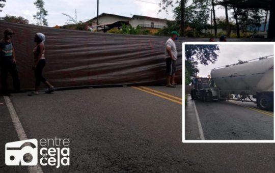 Actualidad: A esta hora hay tres bloqueos sobre la autopista Medellín- Bogotá