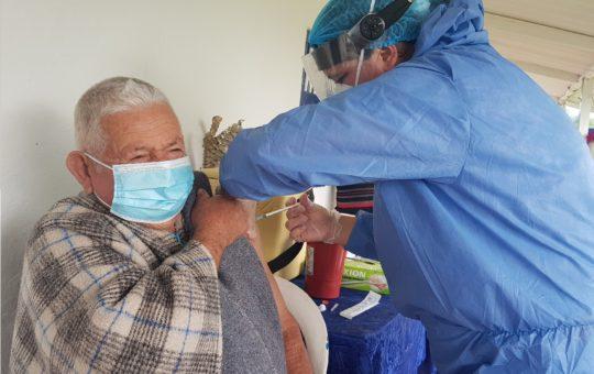 Habilitan nuevo puesto de vacunación contra el Covid en La Ceja
