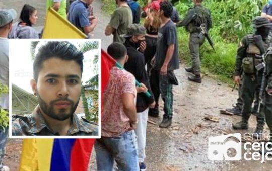 Conmoción en San Luis: Fue asesinado joven que lideraba las marchas del Paro Nacional.