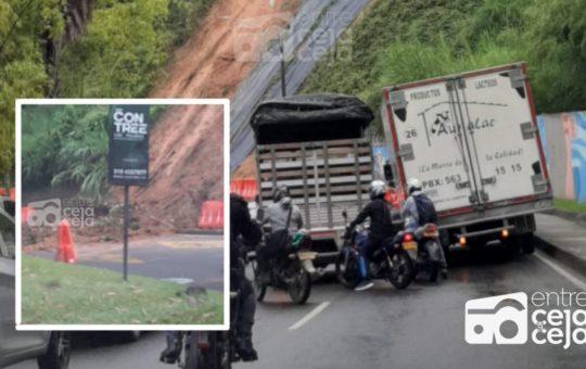 ¿Va para Medellín? Por riesgo de derrumbe vía Palmas presenta novedades.