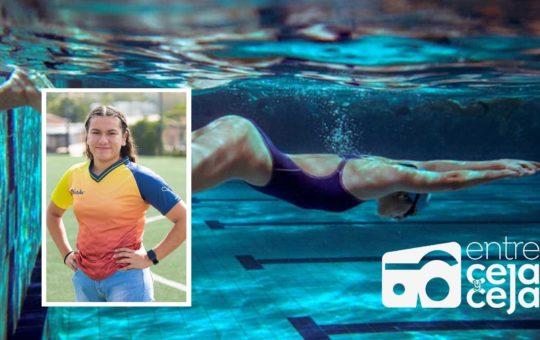 Deportista de El Retiro competirá en Nacional de Natación en Barranquilla.
