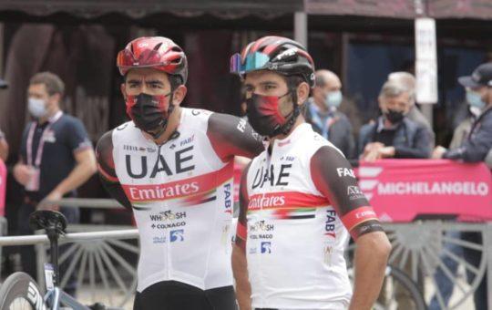 Fernando Gaviria, 5° en la etapa 5 del Giro de Italia