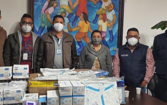 Rionegro ha entregado donaciones a 10 hospitales de la región.