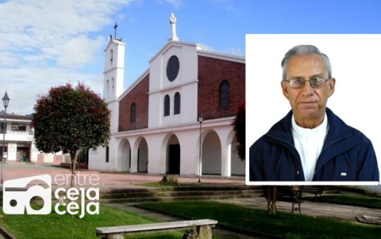 Falleció el padre Luis Alfonso Giraldo, vicario en la iglesia de San Cayetano.