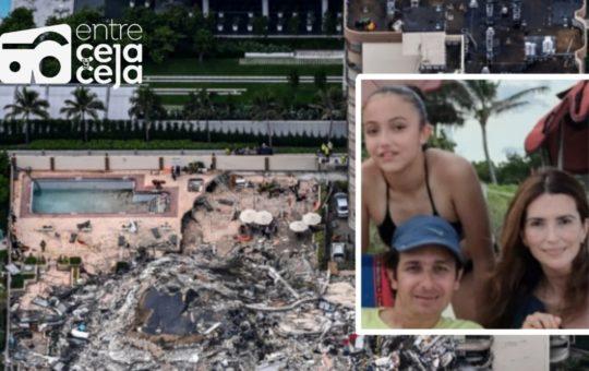 Familia rionegrera viajó a Miami para vacunarse y desapareció tras derrumbe de un edificio.