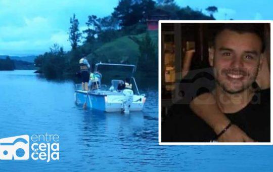 Bomberos rescataron el cuerpo sin vida de un turista en represa de Guatapé.