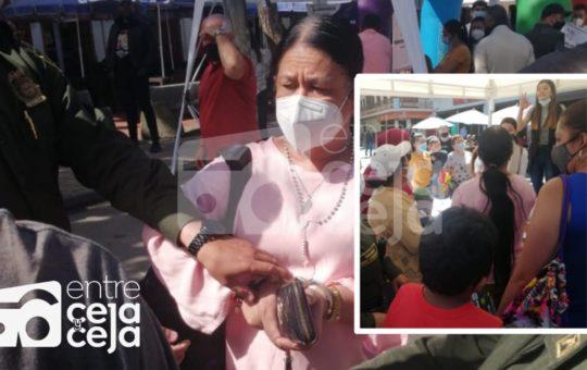 En Marinilla capturaron a presunta estafadora que prometía Viviendas de Interés Social.