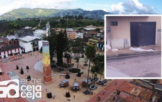 El Carmen: Autoridades investigan homicidio perpetrado en zona urbana.