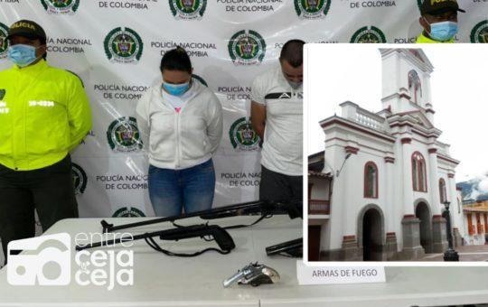 Cayó «Tebaida» sindicado de varios homicidios en Cocorná.