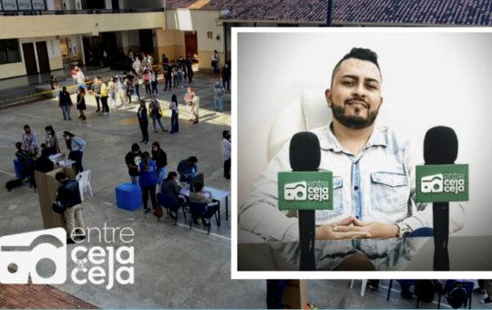 Rionegro: Periodista de Entre Ceja y Ceja fue elegido como representante de  los medios de comunicación en Consejo de Cultura