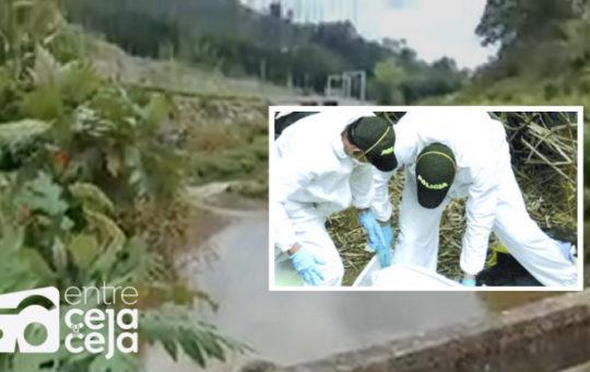 Encontraron cuerpo de una mujer en el Río Negro, en su paso por Marinilla.