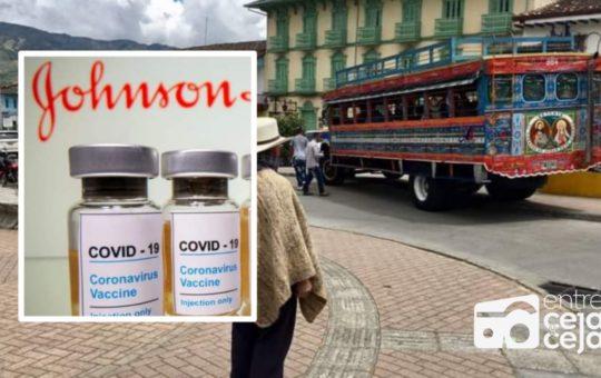 Sonsón primer municipio en Colombia en recibir la vacuna de Johnson & Johnson